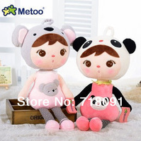 Free Shipping Brand Bestsale 2013 New Arrival Metoo Dolls Super Cute Plush And Stuffed Toys For Child Birthday Gifts,45cm,1pc