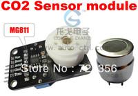 MG811 Carbon Dioxide Sensor Module CO2 Gas Sensor Module For Agricultural 1PCS