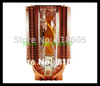 Cpu Fan 4 Heatpipe Copper Tower Side-Blown CPU Fan cooler FM1/AM2/AM2+/AM3/AM3 CPU Cooler LGA 775/1155/1156 LGA775