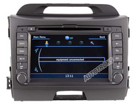 "7"" Car DVD Player autoradio GPS navi KIA Sportage 2010 - 2012 + 3G WIFI + V-20 Disc + 1GB cpu + DDR 512M RAM  DVD + A8 Chipset"