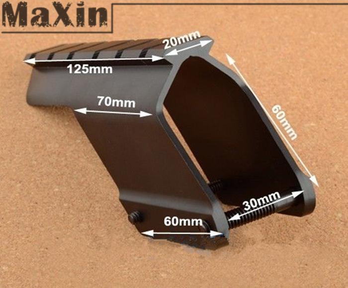 5pcs/lot Sporting Goods Shotgun Scope Mount Fits Remington 870 Shotgun Saddle Mount Hunting(China (Mainland))