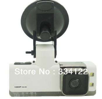 1.5 inch screen/LED flash/720P,1080P HD video Car DVR Car Camera Black Box Free shipping