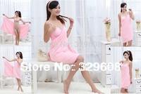 Variety Magic Towel Bathrobe Lounge Spaghetti Strap Bath Towel Beach All-match Tube Top Bathrobe Skirt