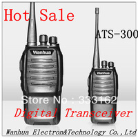 Digital Transceiver 5 Watts 400-470MHz Digital Two Way Radio With TOT Digital Walkie Talkie,Intercom,Interphone Free Shipping