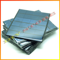 10pcs/lot 6V 0.6A 3.5W mini solar panels small solar power 3.6v battery charge solar led light solar cell drop shipping-10000596