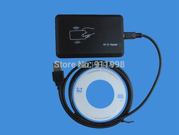 EM4100 USB 125khz RFID Read Writer Duplicator Copier Duplicate Compatible EM4305 T5577  Rewritable Tag  Ship With Track Number