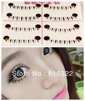 10 Pairs Natural Under Lower Eye Lashes Bottom Fake False Eyelashes Makeup #02 Free Shipping