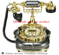 Landline Phone of Ancient Style with Caller Id Bling Bling Gadget for Home 2013 New Creative Telefone