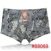 Hot Men's Boxer Boyshort Underwear Soft Hydrolyzed Collagen Protein Underwear From Yunjie China 30pcs/lot