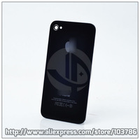 No1 Quality Back Glass Battery Door Housing For iPhone 4 4G Back Cover Replacement Black/White +Free Tool +Free Protector