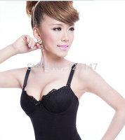 Bride no shoulder tape shaper corset underwear breast care beauty care wedding slimming clothes royal vintage tight bra