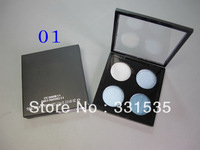 "2pcs/lot  fashion cheap brand name make-up ""Same Original"" 4 Color Eyeshadow palette  8 diff color free shipping"