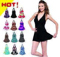 Hot sexy Bikini Ladies swimwear Sexy swinsuit,Female swimwear size push up spa, Plus size dress swimsuit Free shipping
