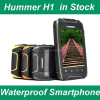 "in stock freeshipping HUMMER H1 MTK6572 3.5"" Android smartphone Dustproof Shockproof Waterproof Dual SIM GPS Russian Spanish V5"