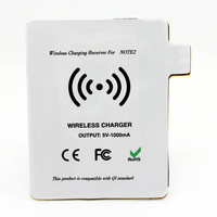 Free Shipping  Qi Wireless Charging Receiver tag Qi standard Wireless charger adapter card for Samsung Galaxy Note II 2 N7100