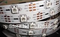 5m DC5V WS2812B led pixel srip,non-waterproof,30pcs WS2812B/M with 30pixels;36W;white pcb