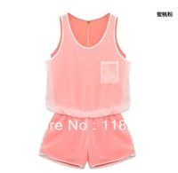 TF,2013 novelty/jumpsuit/fashion/business casual/chiffon/mini/sportswear/large size/neon/party, dresses/dress,summer for women