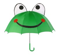Frog  Kids Childrens Cartoon Animal Umbrella Free Shipping