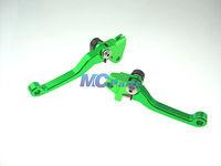 CNC PIVOT BRAKE CLUTCH LEVERS For Kawasaki KX125 06-08 KX250 05-08 KX 125 250 G