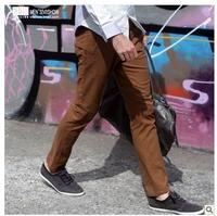 viishow European and American fashion men's casual pants men male street fashion skinny pants trousers Slim trousers