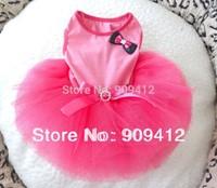 2014 Hotting Fashionable aguze dog dress pet summer clothing  Free shipping XS S M L