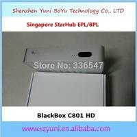 StarHub box Singapore Blackbox C801 HD cable TV Receiver+ wifi adapter, newer than Blackbox hd-C608 plus C808. For HD, EPL/BPL