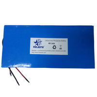 48V 24Ah LiFePO4 E-Bike Battery Pack with PCM (LFP65120125-16S3P, 1152Wh)