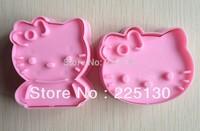 Free shipping 2PCS shape mold sugar Arts set Fondant Cake tools/cookie cutters