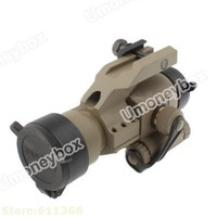 Top quality Hot selling Aimpoint M2 Type Scope Red Dot Sight Rifle Reflex for Military Free Shipping