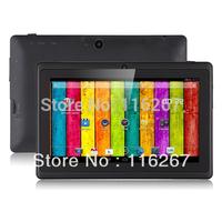 Dual Core Q88 Allwinner A23 7inch tablet pc dual camrea 512M 4GB Andorid4.2