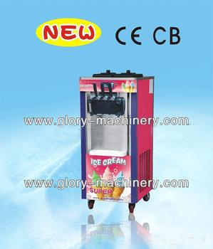 Hottest 3-color soft ice cream machine - manufacturer icecream maker machine