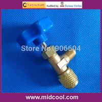 Good quality refrigeration service valve(freon  R22 R410a R134a refrigerant can tap valve)