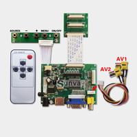 8inch 1024x768 Tablet PC LCD Screen DIY Monitor Kit LVDS 40pin Controller Driver AD Board HDMI VGA 2AV reversing AV2 priority