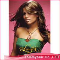 Beautiful brazilian human hair wig!!!100% Brazilian virgin hair full lace wig and front lace wig,glueless full lace wig