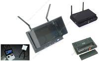 "Free Shipping!Skyzone SKY-700D FPV 5.8G 32CH Diversity 7""TFT Monitor Receiver DVR w/ Sunshade"
