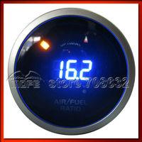"""Original Logo 52mm 2"""" 20 Analog LED Digital Air Fuel Ratio Gauge With Stepper Motor"""