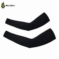 WOLFBIKE Cycling Arm Cover Sun Protection Golf Sleeve Cooling Arm Sleeves 1 Pair Athletic Sport Skins Sun Protective UV Cover