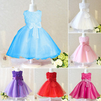 kids/children party or wedding dresses,beautiful princess girl brand red dress with casual dress for party full of flowers