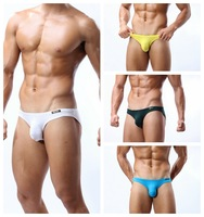 BRAVE PERSON Sexy brief  ammonia (White, yellow, black, blue and gray, dark green, the color blue)(S,M,L)can Mixed batch