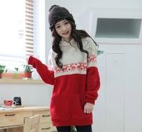 2014 New brand Fall Autumn Winter fashion casual plus size women cotton hoody pullover sweatshirts hoodies