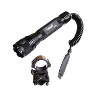 Hunting Xenon Shotgun Rifle Mount Lights Tactical Hugsby Flashlight Torch S3 Set Free shipping