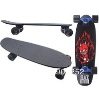 63cm maple wood fish skateboards,children skateboard,single alice fish skateboard,new skateboard