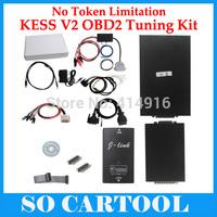 2014 High Quality KESS V2 No Token Limitation OBD2 Manager Tuning Kit V2.06 Kess V2 Master With DHL/EMS Shipping