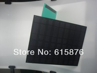 9V 1100mA 10.1w  thin and light hard board monocrystalline cell solar panel charge 6V battery or DC water pump,solar system,DIY