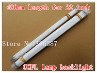 10pcs 22 inch wide sreen LCD CCFL lamp backlight ,CCFL backlight tube,480MM*2.4mm, 482MM*2.4mm,22 inch wide sreen CCFL light