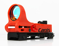 1x25 Railway Red Dot Scope C-more Railway Style With Red Illumination CL2-0021R