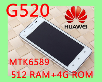 Unlocked Original HUAWEI G525 Quad Core Honor 2 Youth G520 upgraded version Android mobile phone Free Shipping