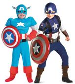 Carnival Costume Boys Pelicula Halloween Coslplay for Children Boys The Avengers Captain America Costume Fantasia Infantil