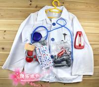 Halloween child clothes ,Children dress up, Halloween supplies, party supplies, game articles - children Doctor clothes