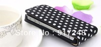 Free Shipping 10pcs/lot Wholesales Polka Dots Mobile Phone Case Cell Phones Case